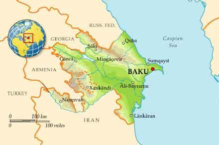کشور آذربایجان-جمهوری آذربایجان