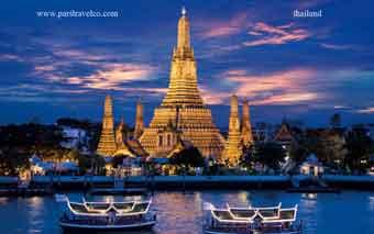 بلیط تایلند بانکوک