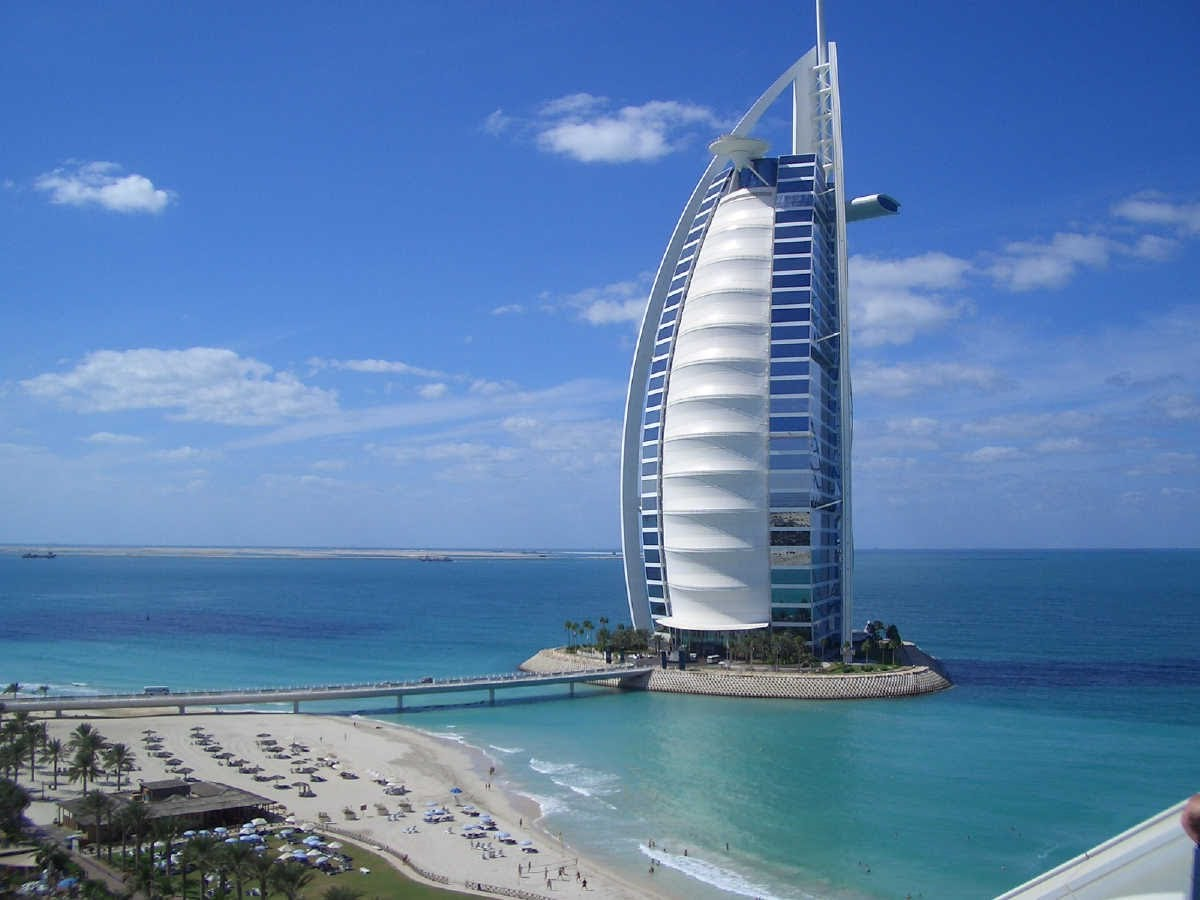 هتل برج العرب در دبی