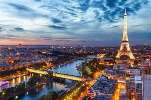 بلیط پاریس فرانسه