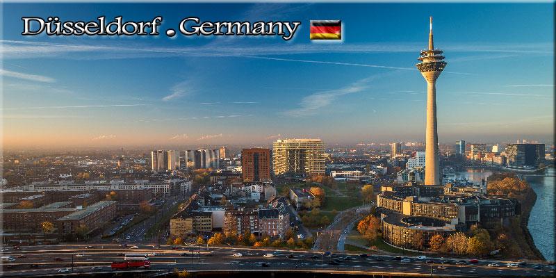 رزرو بلیط دسلدورف آلمان