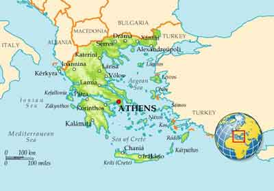 تورهای یونان
