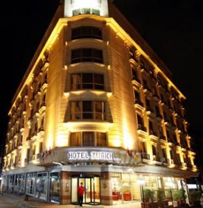 رزرو تور استانبول هتل زوریخ استانبول