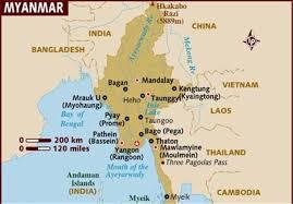 بلیت هواپیما میانمار
