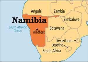 بلیط هواپیما نامیبیا