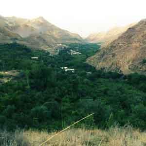 روستای توریستی زرده