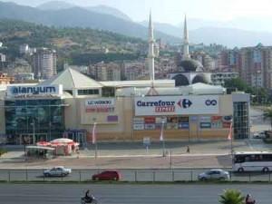 مراکز خرید آلانیا ترکیه