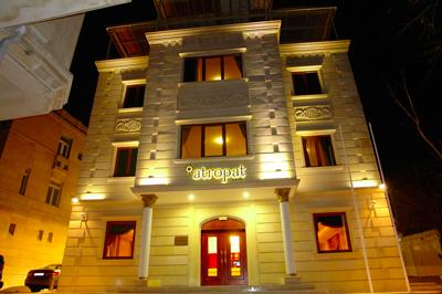 قیمت تور باکو هتل آتروپات باکو
