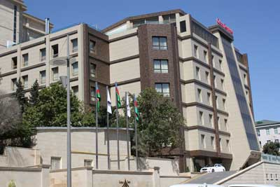رزرو تور باکو هتل قفقاز پوینت باکو