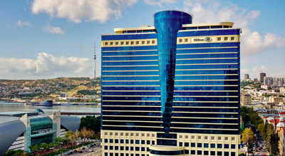 قیمت تور باکو هتل هیلتون باکو