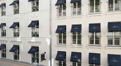 قیمت هتل لی بارگاندی پاریس