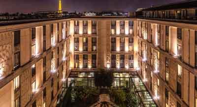 قیمت هتل هیلتون آرک دی تریمف پاریس