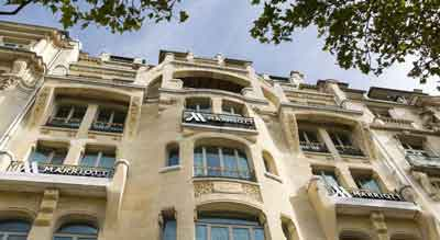 rdlj هتل پاریس ماریوت چامپس لیسیس