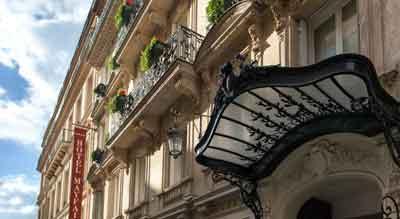 هتل مایفایر پاریس- رزرو هتل مایفایر