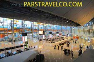 سالن ترانزیت فرودگاه ارمنستان