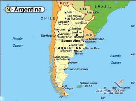 کشور آرژانتین در امریکا