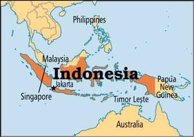 جمعیت کشور اندونزی