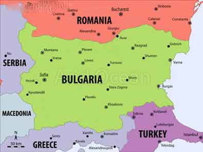 پایتخت کشور بلغارستان