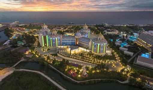 تور آنتالیا عید فطر هتل دلفین به گراند
