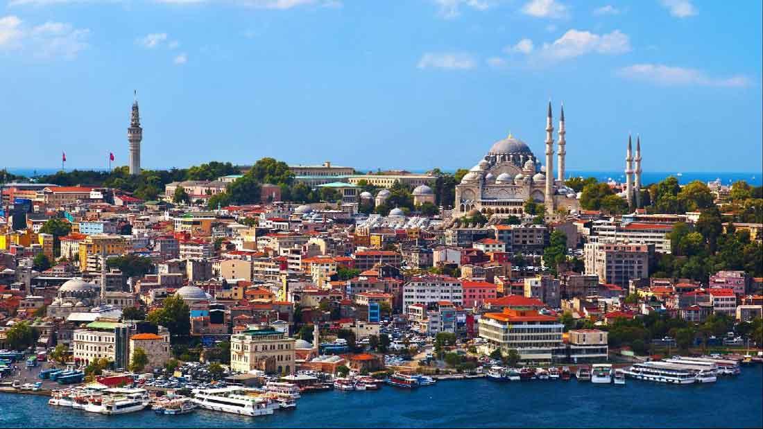 تور ترکیبی ترکیه استانبول آنتالیا