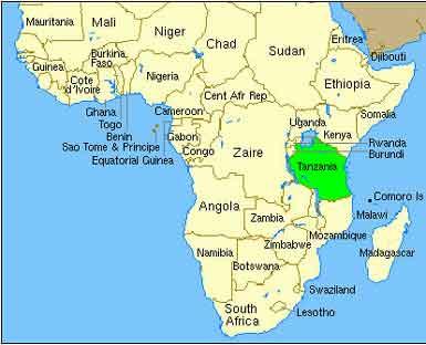 پایتخت کشور تانزانیا