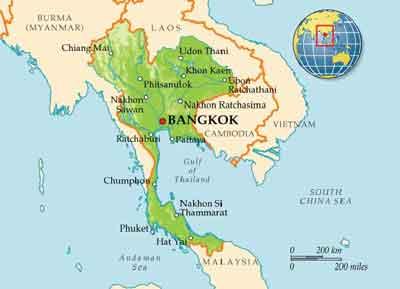 پایتخت کشور تایلند