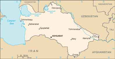 پایتخت کشور ترکمنستان