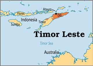 پایتخت کشور تیمور شرقی