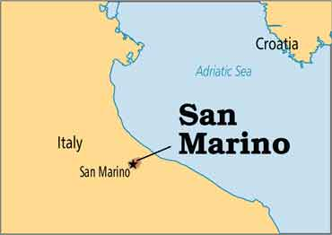 پایتخت کشور سان مارینو