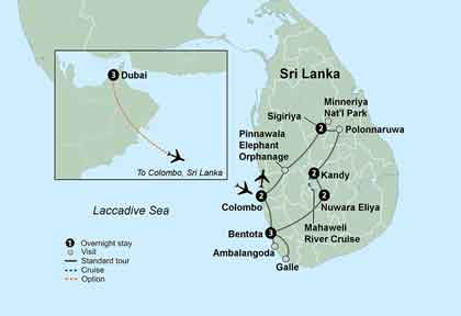 پایتخت کشور سریلانکا