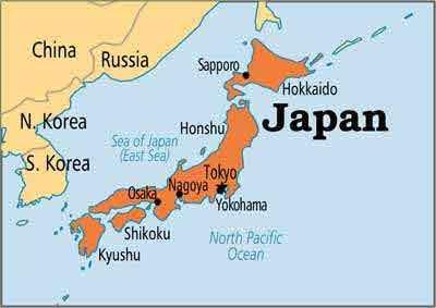 پایتخت کشور ژاپن کدام است