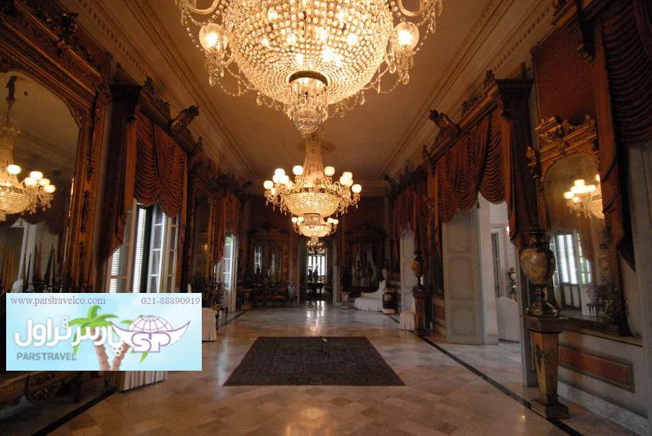 بازدید از قصر دلما بهچه با تور استانبول