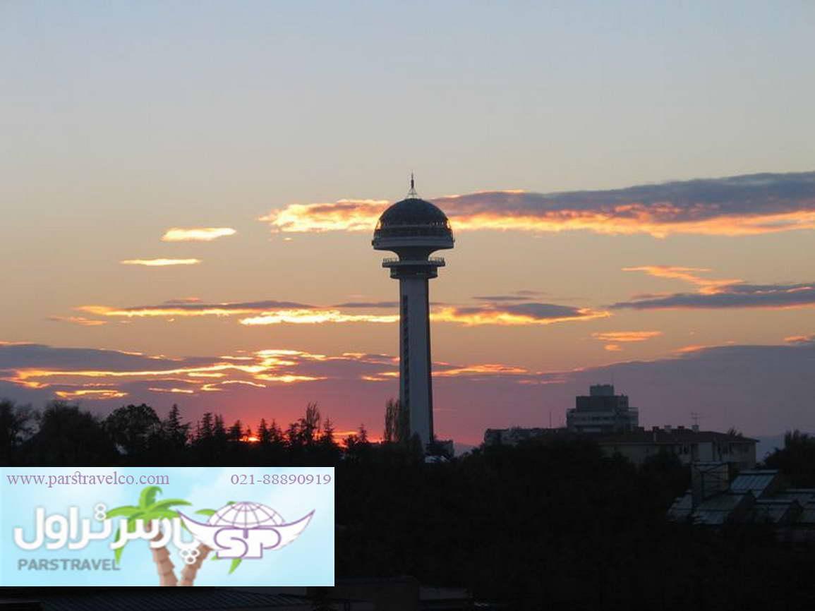 بازدید برج آتاوکول با تور آنکارا