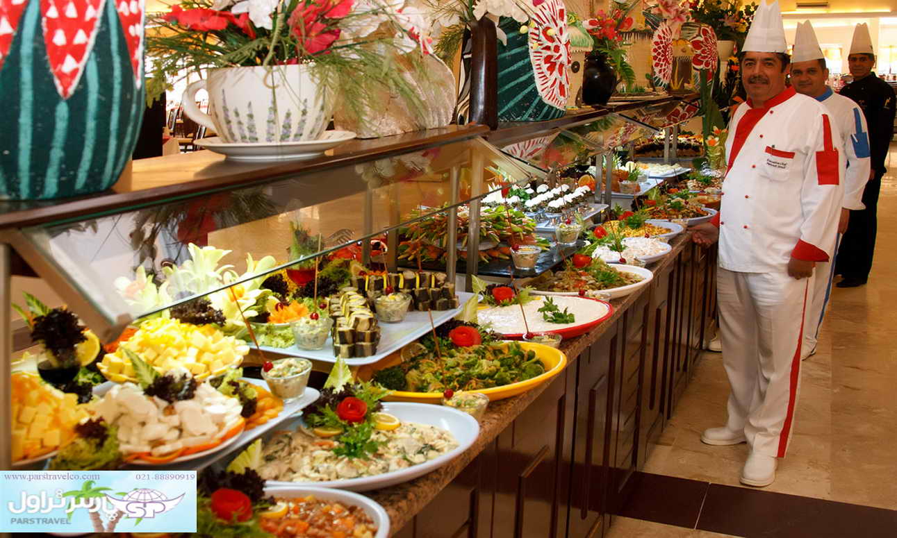 غذا های خوشمزه و متنوع
