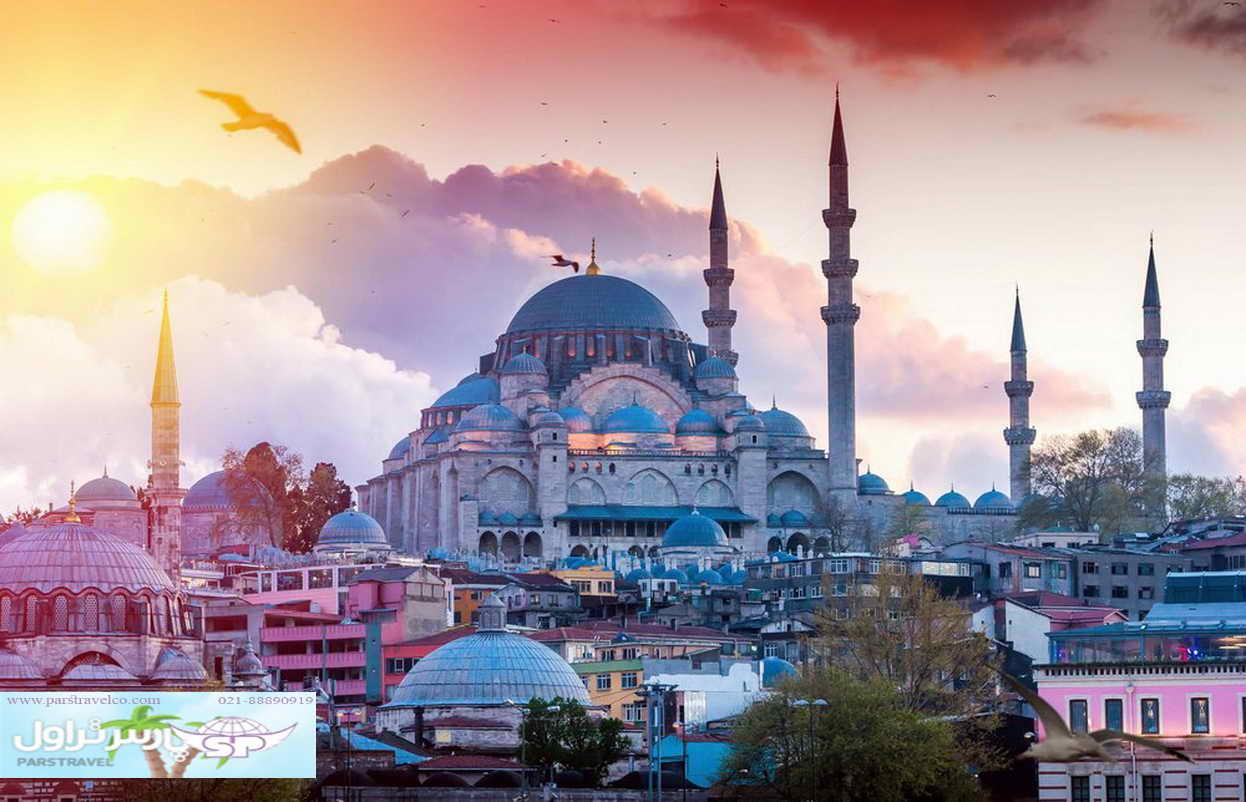 توصیه های تور استانبول