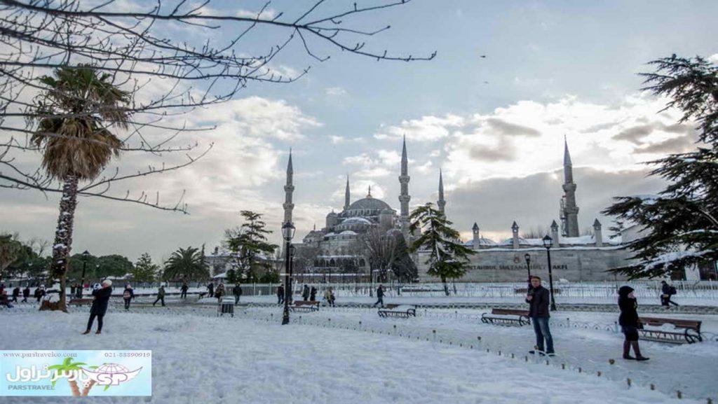 سفر زمستانی به ترکیه
