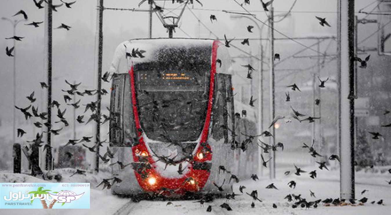 سفر زمستانه به استانبول و انتخاب تور استانبول زمستانی