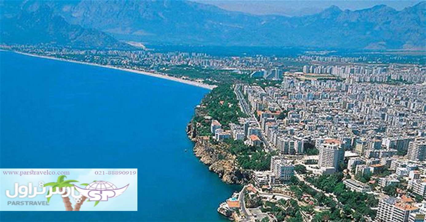با ما به آنتالیا سفر کنید
