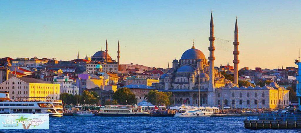 اگر تور استانبول را میخواهید :