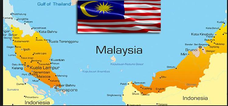 نقشه مالزی- تور مالزی