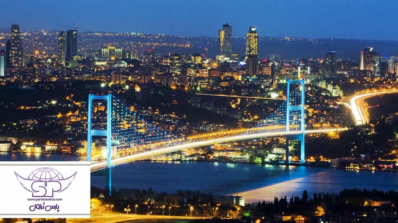 همه چیز راجع به تور استانبول