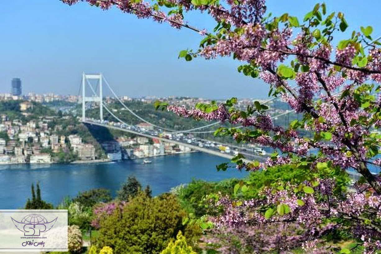 سفر به ترکیه در بهار